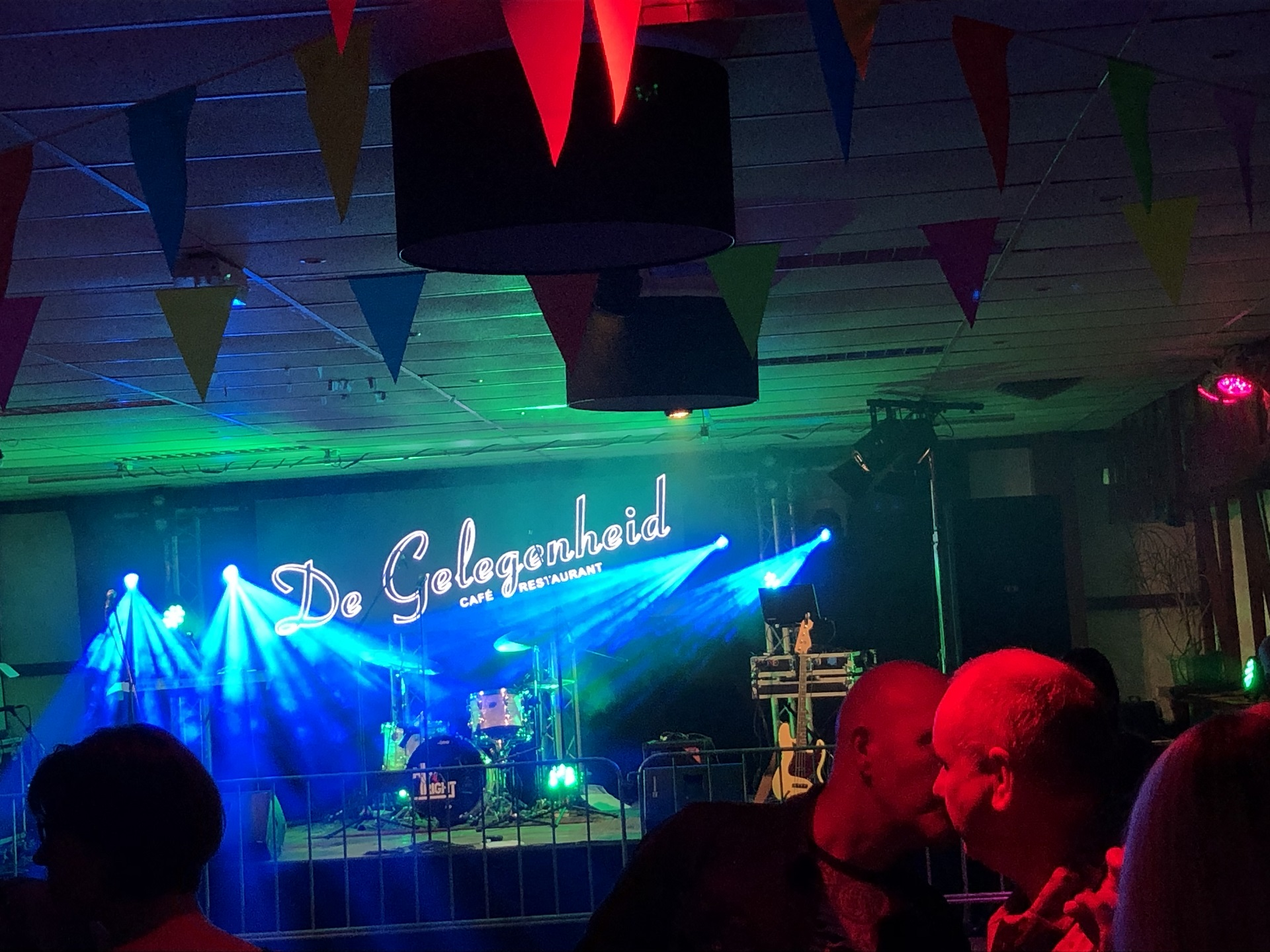 Sound Events Ledscherm optreden band